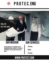 Company Profile Banner 4' × 6' template
