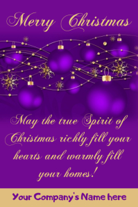 Company's Christmas Card