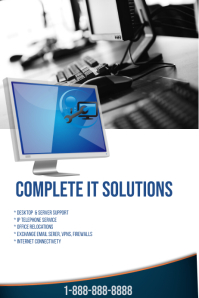 Complete IT Solutions Poster