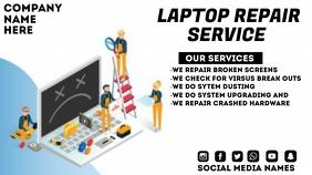 Computer Repair Presentation (16:9) template