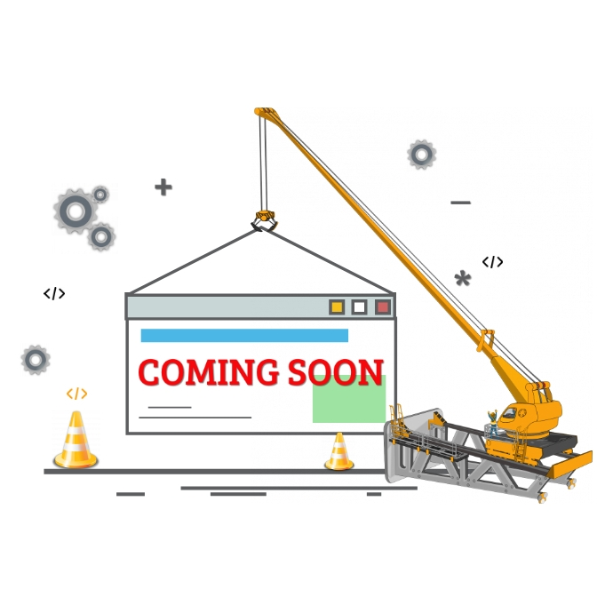 Website Design Coming Soon Logo template