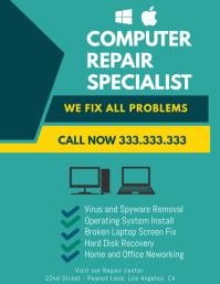 customize 270 computer repair flyer templates postermywall