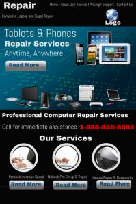 computer repair flyer template word