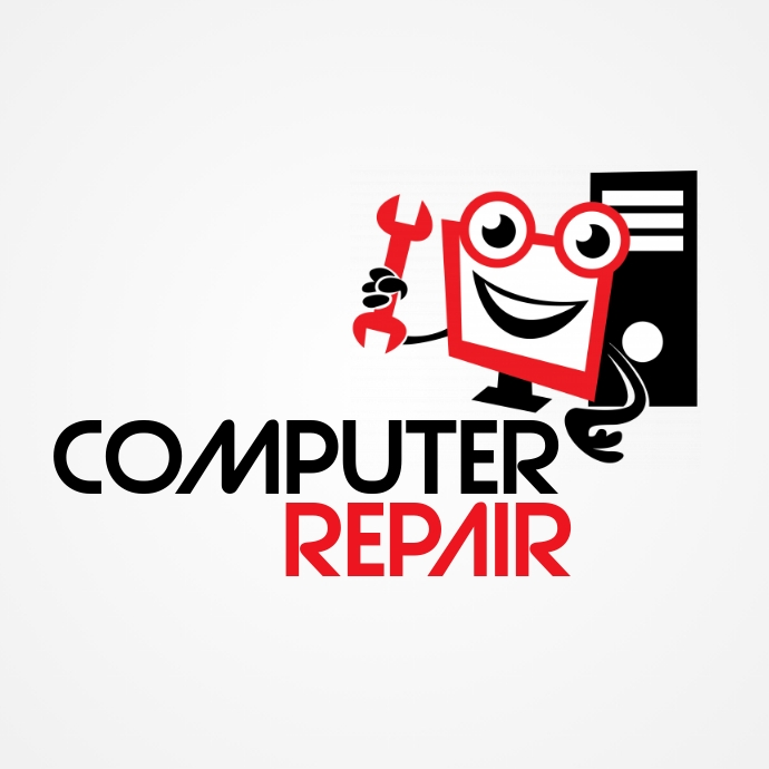 Computer Repair Logo template