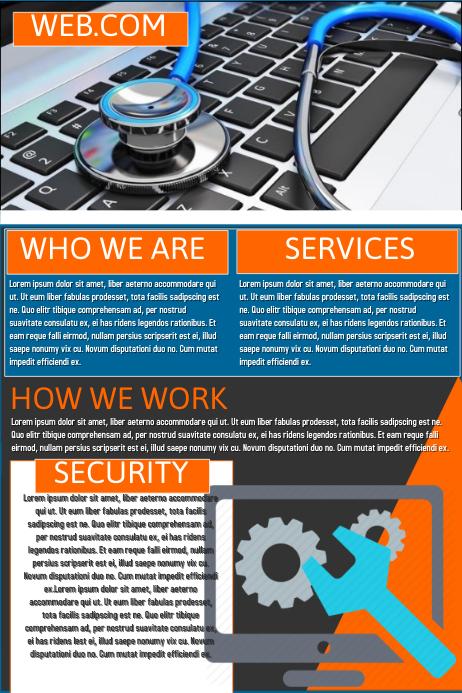 Download Poster Computer Repair Advertisement Samples Pics