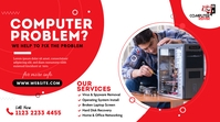 Computer Repair Services Post sa Twitter template