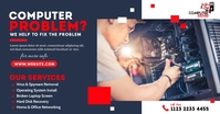 Computer Repair Services Image partagée Facebook template