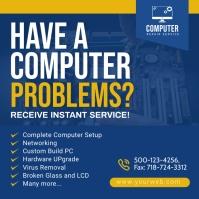 Computer Repair Social Media Post