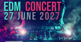 CONCERT AD facebook share TEMPLATE