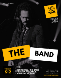 Concert Band Flyer Design Template