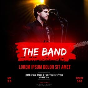 Concert Band Instagram Post Template
