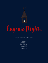 concert/event flyer template