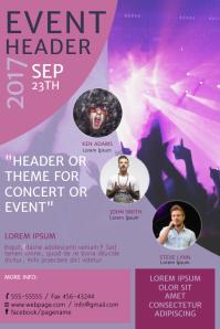 Concert Event Flyer Template