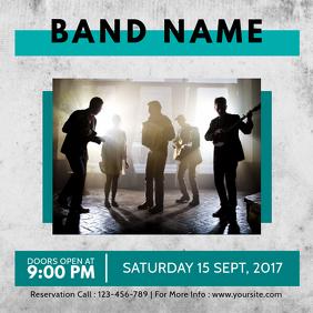 Concert Event template