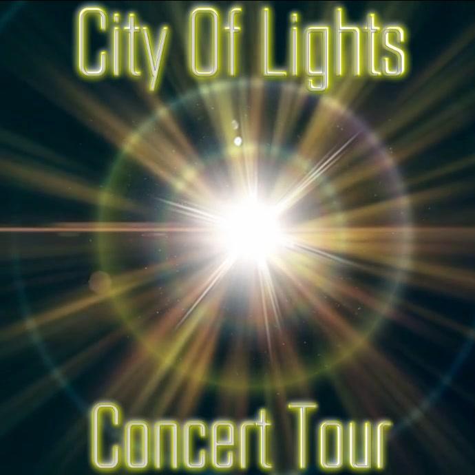 Concert Flyer Instagram-opslag template
