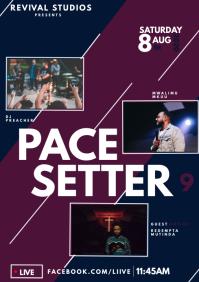 Concert Flyer Template A4