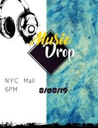 Concert Flyer video