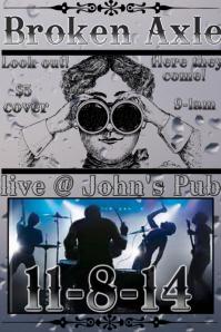 Concert/gig flyer