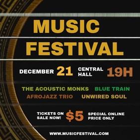 Concert Online Flyer Template