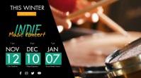 Concert Schedule Digital Signage template