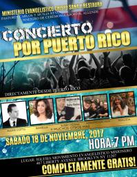 concierto para puerto rico