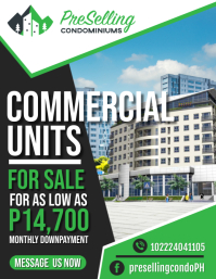 Condominiums Flyer (format US Letter) template