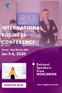 Conference Banier 4'×6' template