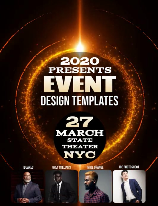 CONFERENCE EVENT SEMINAR FLYER TEMPLATE