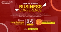 Conference Facebook Ad template