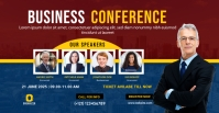 Conference Facebook Event Cover Photo template