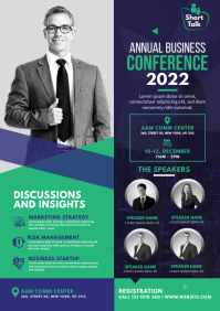 Conference Flyer A4 template