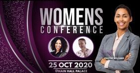 Conference flyer Imagem partilhada do Facebook template