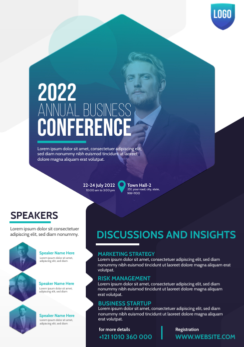 Conference Flyer Template A4