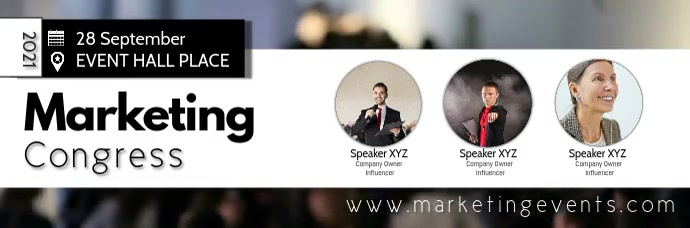 Conference Marketing Network Congress Speaker template