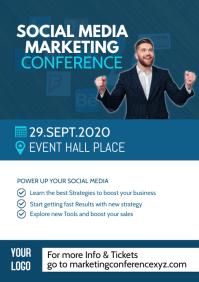 Conference Marketing Network Event Speaker Ad