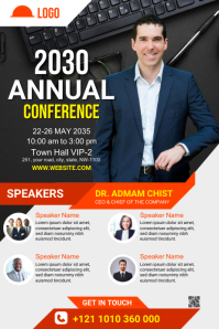 Conference Poster Template Plakat