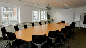 Conference Room - Zoom Background Templates Presentation (16:9)