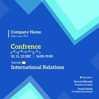 Conference Template For Business Publicação no Instagram