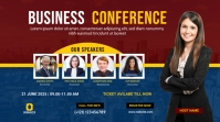 Conference YouTube Channel Cover Photo template