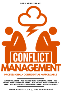 Conflict Management Poster