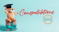 Congrats Graduates Digital Display (16:9) template