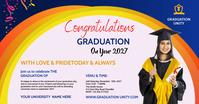 Congrats Graduation Facebook Gedeelde Prent template