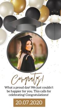 congrats graduation instagram Story Template