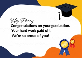Congratulation Graduation Card