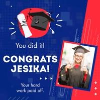 Congratulation Graduation Template
