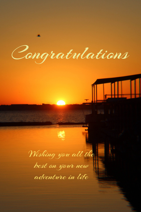 congratulations poster template postermywall