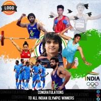 Congratulations India Sampul Album template
