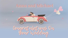 Congratulations Newly Weds Video Template