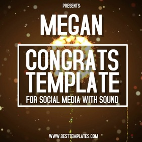 CONGRATULATIONS TEMPLATE DIGITAL