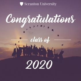 Congratulations university graduates 2020